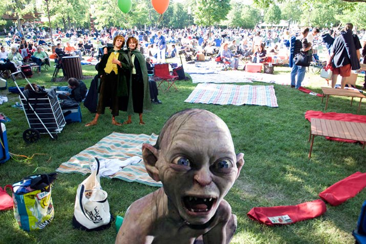 How to Get and Keep Children Interested in Concert Music - Live Music   Gollum experiencing live music at Ravinia Festival