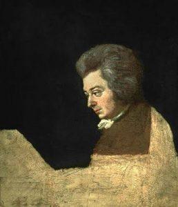 Joseph Lange Mozart Portrait   Mozartian Comspiracy Theories