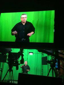 Recording at OraTV