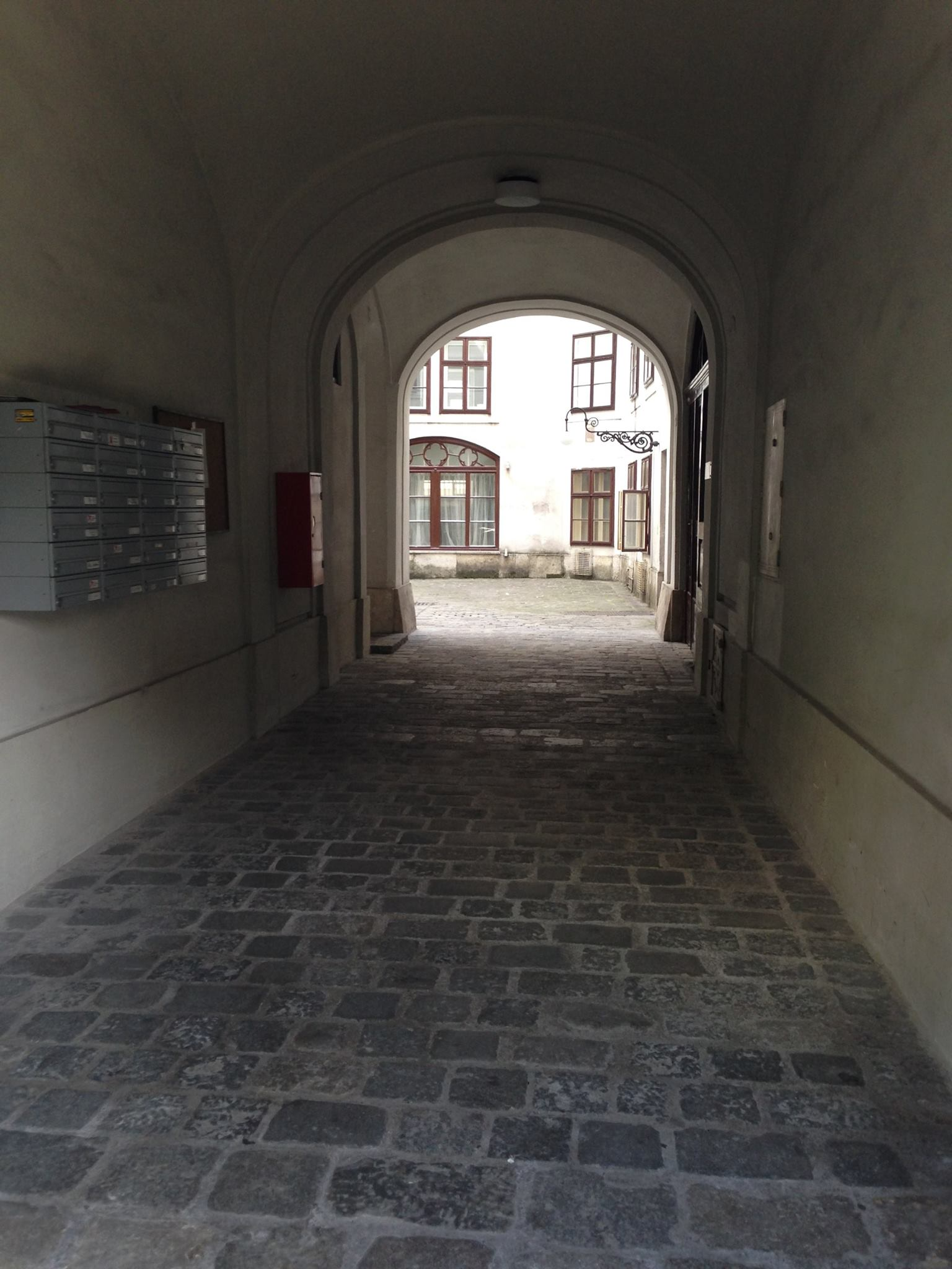 Passageway in the house where Beethoven lived