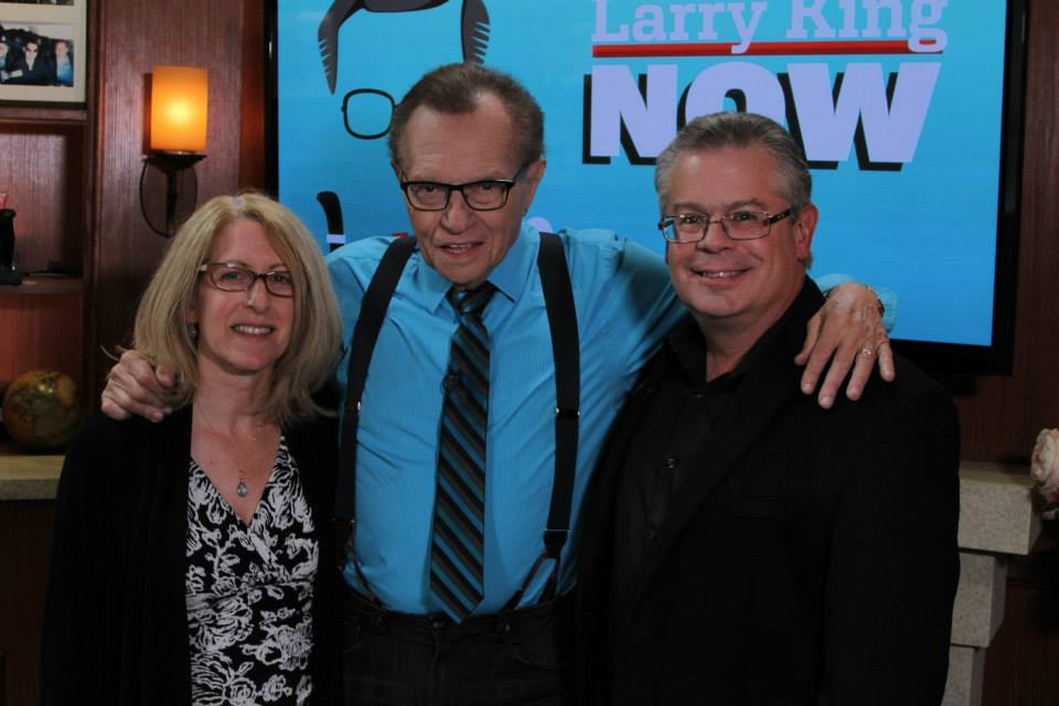 Robert Greenberg and Nanci Tucker with Larry King | OraTV