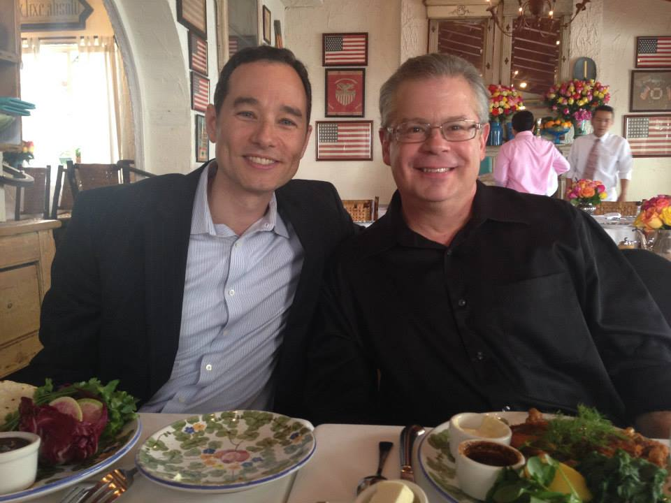 Robert Greenberg with OraTV CEO Jon Housman