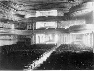 The original Steinway concert hall in on East 14th Street