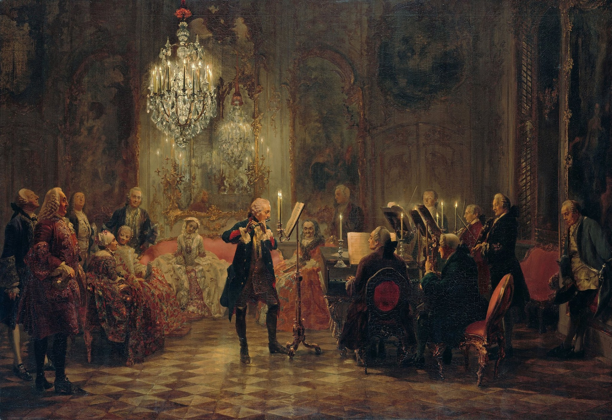 Frederick The Great and CPE Bach JJ Quantz