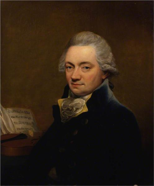 Johann Peter Salomon in 1792