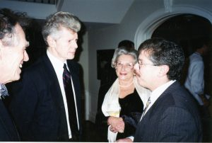 Robert Greenberg and Van Cliburn in 1996