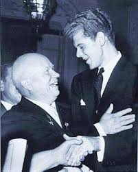 Van Cliburn with Krushchev