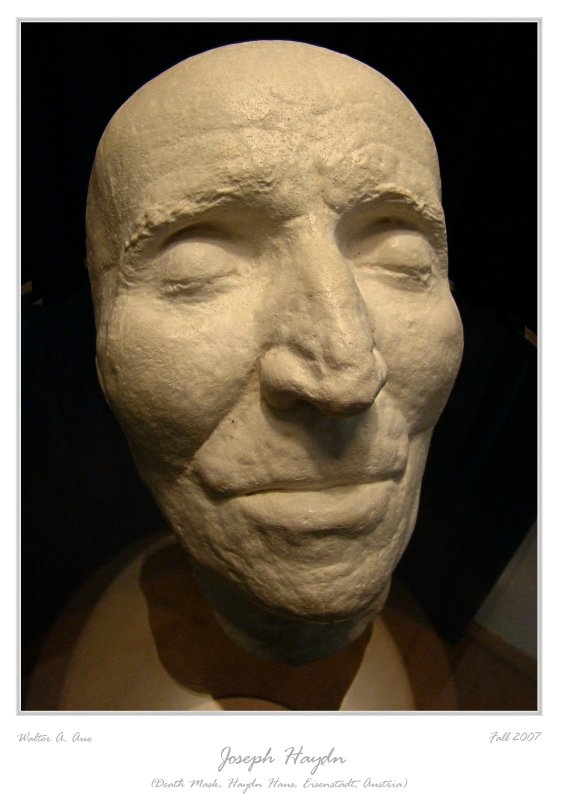 Haydn's death mask