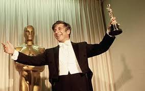 Elmer Bernstein With Oscar