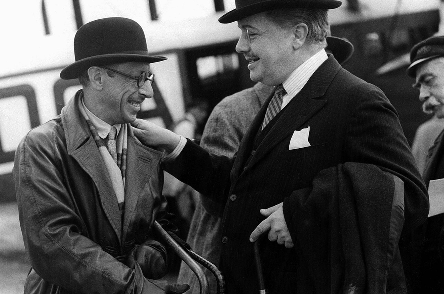 Igor Stravinsky and Serge Diaghilev London 1926