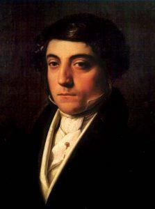 Gioachino Rossini, circa 1815