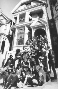 the Grateful Dead and other bands at 710 Ashbury Street on February 2, 1967