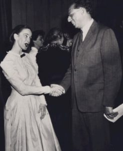 Appalachian Spring Premiere with Martha Graham and Aaron Copland