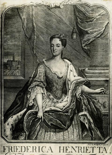 Frederica Henrietta of Anhalt-Bernburg