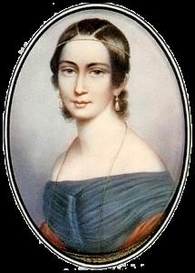 Clara Wieck in 1838
