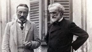 Arrigo Boito and Giuseppe Verdi