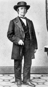 Henry E. Steinway, photographed by Matthew Brady in New York City in 1864