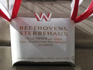 Beethoven Memorial Plaque