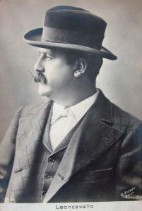 Rugerro Leoncavallo in 1910