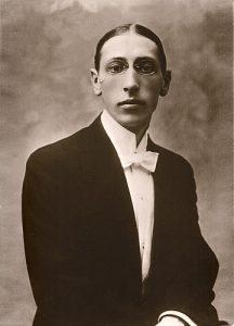 Stravinsky in 1910