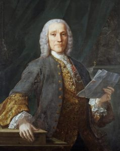 Domenico Scarlatti in 1739 by Domingo Antonio Velasco