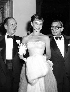 Cole Porter, Audrey Hepburn, Irving Berlin