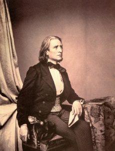Franz Liszt in 1858