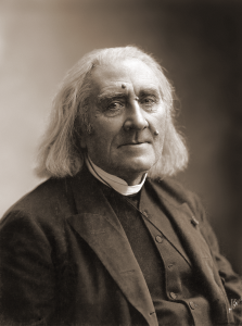 Franz Liszt in 1886