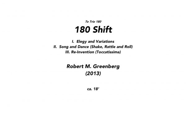 180 Shift SCORE Cover