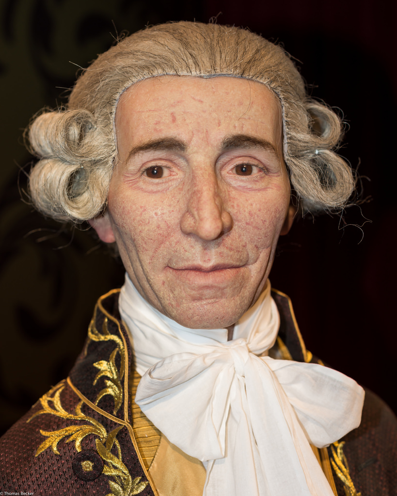 Joseph Haydn, forensic reconstruction by Thomas Becker