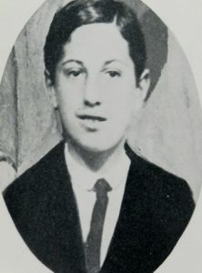 Photo of Gershwin at the age of 10