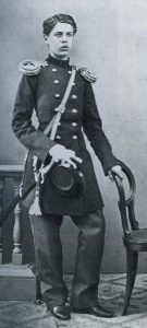 Mussorgsky as a cadet