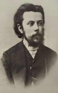 Mussorgsky at around the time he met Rimsky-Korsakov