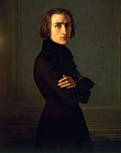 Franz Liszt (1811-1886) in 1839