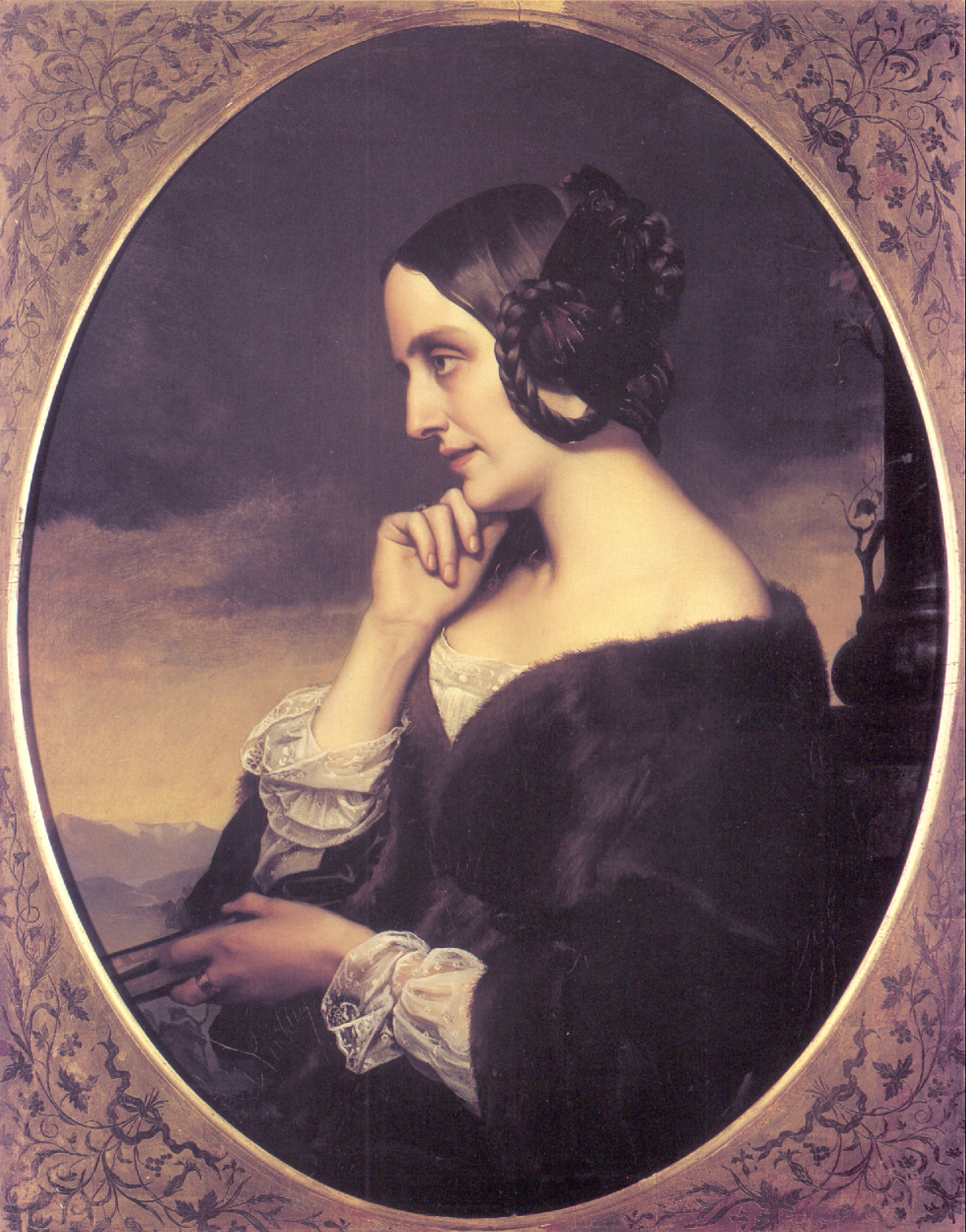 Marie d'Agoult (1805-1876) in 1843