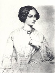 Princess Carolyne Wittgenstein (1819-1887) in 1828