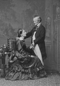 Cosima and Richard Wagner, 1872
