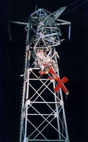 Bill Graham's helicopter on the tower
