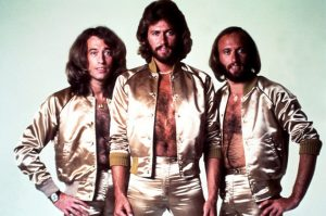 The Bee Gees in Gold Lamé