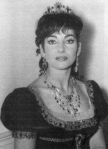 Maria Callas (1923-1977) as Floria Tosca