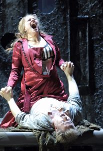 Katerina and Sergei doing their thang in a Munich production of Lady Macbeth of the Mtsensk District