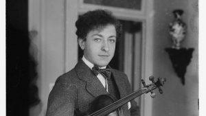 Jascha Heifetz in 1917