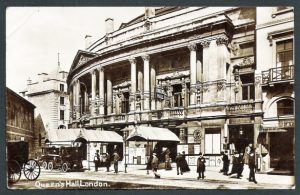 Queen's Hall in 1912