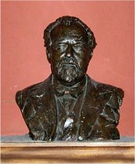 The surviving bust of Sir Henry Wood