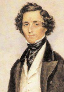 Felix Mendelssohn in 1839