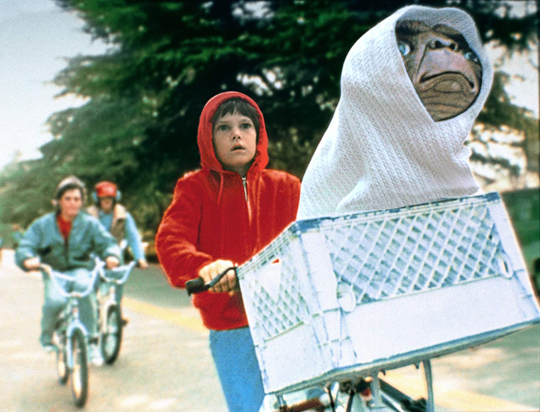 Scene from E.T.