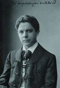 Béla Bartók (1881-1945) in 1903