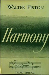 Walter Piston, Harmony, third edition, published in 1969