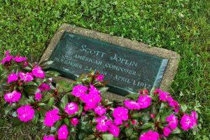 Scott Joplin's Headstone