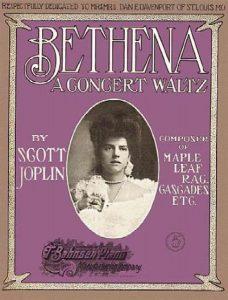 The cover of Joplin's Bethena